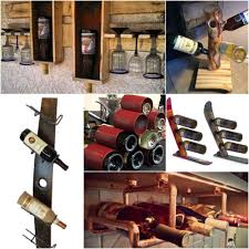14 original wine racks from recycled materials u2022 recyclart