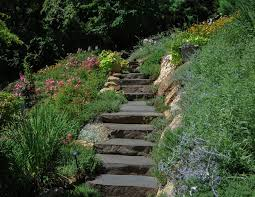Hillside Landscaping Ideas Hillside Landscaping Ideas Landscape Contemporary With Sidewalk