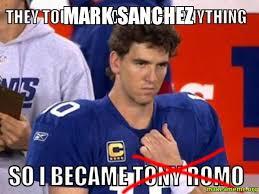 Mark Sanchez Memes - mark sanchez make a meme