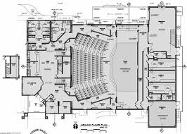 architecture plans floor plans camelot theatre ashland or design by bruce richey