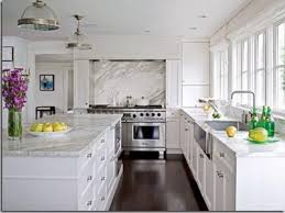 Red Kitchens With White Cabinets Granite Countertop White Kitchen Cabinets With White Granite