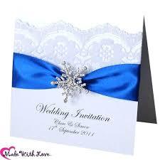 wedding invitations royal blue royal blue ribbon wedding invitations simplo co