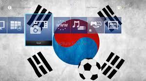 Korea Flag Icon A Soccerball With Dynamic South Korea Flag Theme On Ps4 Official