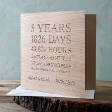 5th wedding anniversary gifts for wood 5th wedding anniversary gifts gettingpersonal co uk