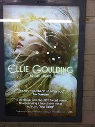 Ellie Goulding Lights Album Magazine Advert Research Holly Readman Riley