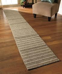 Non Skid Runner Rugs Non Slip Runner Rug Striped Washable Durable 60 90