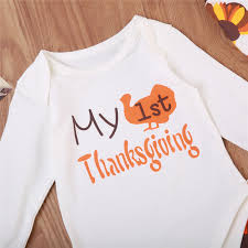 thanksgiving baby clothes set 3pcs fall newborn baby boy top