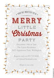christmas brunch invitation wording 15 free christmas party invitations that you can print