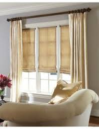 Window Fabric Smith Noble Relaxed Roman Fabric Shades In Linen Perfection