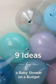 baby shower ideas on a budget cheap baby shower ideas on a budget