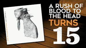 coldplay album 2017 15 years ago coldplay release a rush of blood to the head sonic