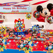 mickey mouse birthday party mickey mouse birthday party ideas party city