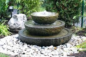 Garden Water Fountains Ideas Patio Water Decorative Fountains 4 Landscape Patio Patio