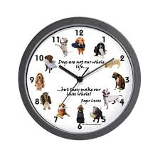 Unique Clocks Amazon Com Cafepress Clock Dog Lovers Unique Decorative 10