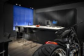 Designer Kitchen Bins 36 Stunning Black Kitchens That Tempt You To Go Dark For Your Next