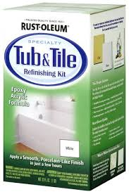 rust oleum specialty white tub u0026 tile refinishing kit 1 qt at