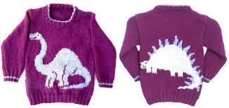 knitting pattern dinosaur jumper 11 dinosaur knitting patterns the craftsy blog