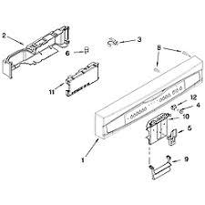 Kenmore Dishwasher Will Not Start Kenmore Dishwasher Parts Model 66513742k601 Sears Partsdirect