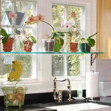 decorating ideas for kitchen shelves 44 window shelf decorating ideas decorating cool floating glass