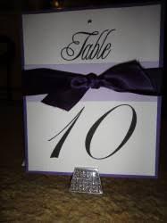 Diy Table Number Holders Table Numbers Weddingbee Photo Gallery