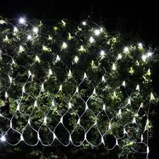 outdoor net lights make your evenings classic and