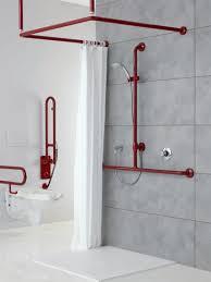 supporto tenda doccia area doccia per disabili e anziani ponte giulio s p a