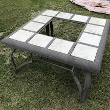 Old Fire Pit - an inspiring outdoor fire pit using stencils stencil stories