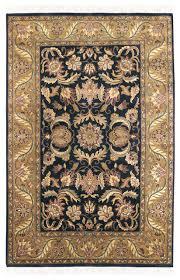 Black Gold Rug Surya Taj Mahal Tj 309 Rug Black Dark Gold Moss Green