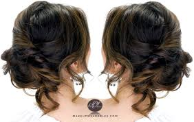 How To Do Easy Hairstyles Step By Step by 3 Minute Elegant Side Updo Everyday Easy Hairstyles