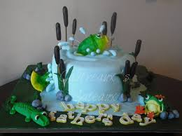 75 best fishing cakes images on pinterest fishing cakes