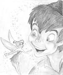 sketches tinkerbell peter pan sketches www sketchesxo