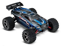 rc monster truck racing traxxas 71076 3 blue 1 16 e revo vxl brushless 4x4 blue racing rc