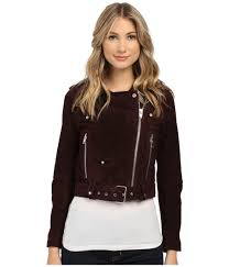 pink leather motorcycle jacket blank nyc coats and jackets women shipped free at zappos