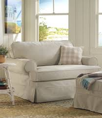 Chair And A Half Sleeper Sofa Pine Point Slipcovered Sleeper Chair And A Half Chairs At L L