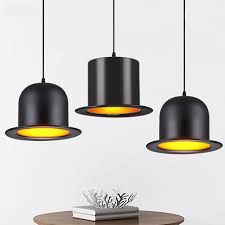 Hanging Bar Lights by Online Get Cheap Black Hat Lamp Aliexpress Com Alibaba Group