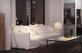 canapé tissu blanc photos canapé blanc tissu