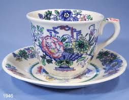 Vintage China Patterns by Mason U0027s U0027strathmore U0027 Pattern C4792 Vintage Cup And Saucer U2013 Sold