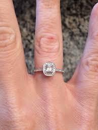 henri daussi engagement rings price reduced henri daussi cushion ring loupe troop