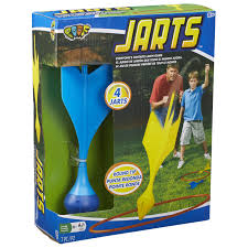 jarts lawn darts outdoor game for kids and adults by poof