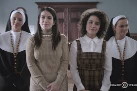 badass nuns tina fey and amy poehler save the wastrels from u0027broad