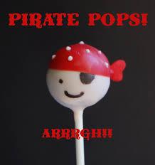 pirate cake pops wine u0026 glue