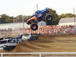 monster truck racing inter fair rodeo