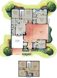 courtyard garage house plans house plans designs center courtyard house plans with square