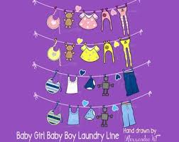 laundry line design clothes line clipart etsy