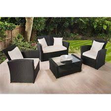 Rattan Pieces Garden  Patio Furniture Sets  EBay - Rattan furniture set