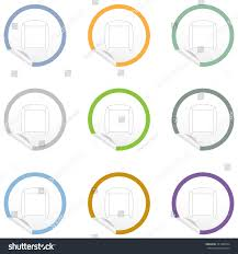 flat chair icon on sticker floor stock vector 351980534 shutterstock