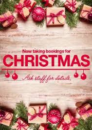 christmas posters book now for christmas promotional poster template