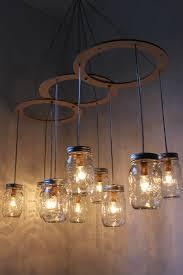 mason jar chandelier mason jar light canopy style by bootsngus