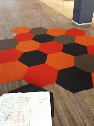 Tile Area Rug Hexagon Rug Commercial Carpets Available From Pentafloor South