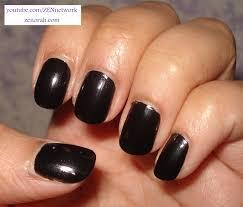 black polish nail designs nails art ideas